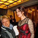 Bondovo dekle Monica Bellucci je obiskala Trst (foto: Alpe)