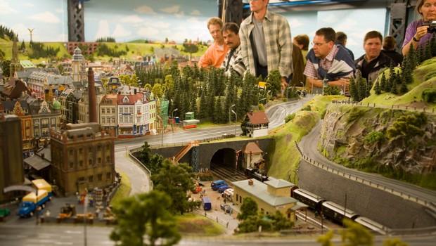 Donald Trump je dobil svoj zid okoli ZDA v nemškem parku miniatur! (foto: profimedia)