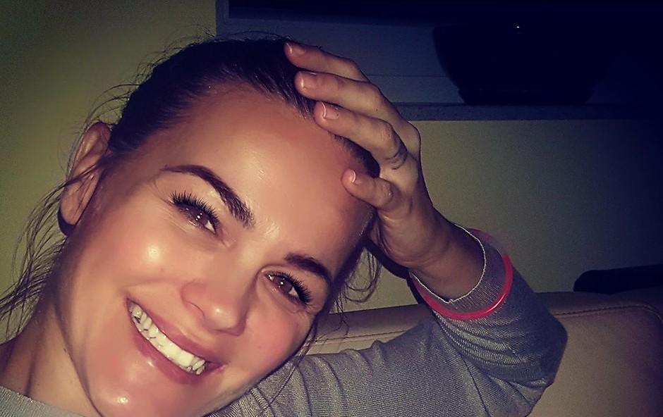 Rebeka Dremelj: »Čim višje in čim dlje!« (foto: Rebeka Dremelj Facebook)