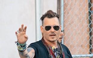 Johnny Depp: Hollywoodski zvezdnik  je velik zapravljivec