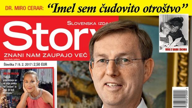 Premier dr. Miro Cerar za Story o sebi, svojem otroštvu in novi partnerki Mojci! (foto: Story)