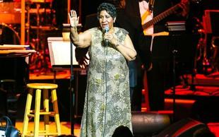 Odšla je kraljica soula Aretha Franklin