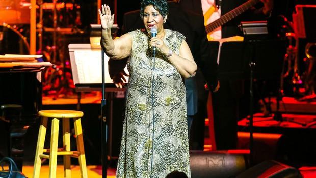 Aretha Franklin pred upokojitvijo sodeluje s Steviejem Wonderjem (foto: profimedia)