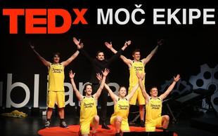 Moč ekipe in skrivnost uspeha Dunking Devils tudi na TEDxLjubljana!