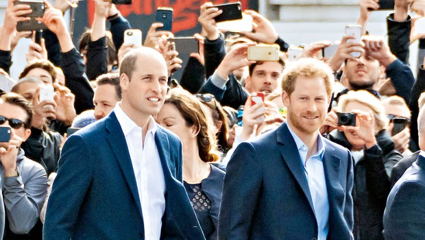 Princ Harry in princ William bosta v spomin svoji mami postavila kip (foto: Profimedia)