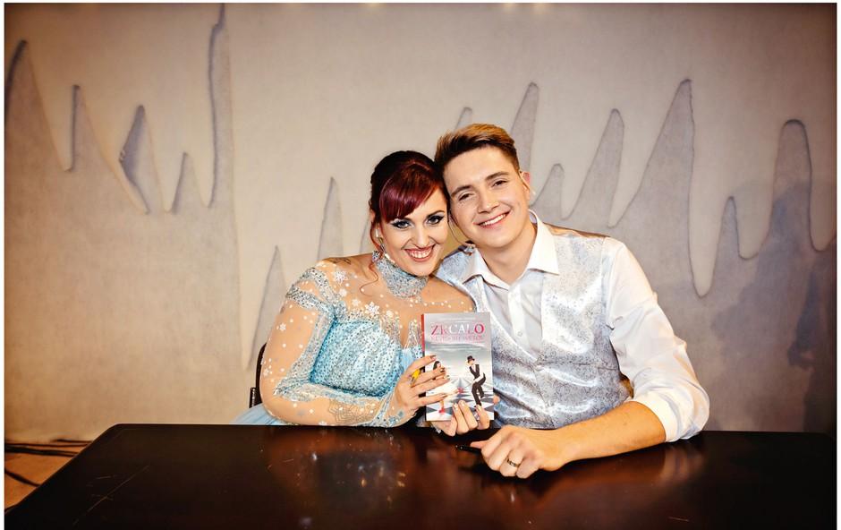 """Cristy in Mihael Žmahar: """"Partner ni center našega življenja"""" (foto: osebni arhiv)"""