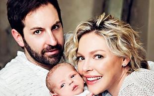 Igralki Katherine Heigl so hormoni ponagajali šele po porodu