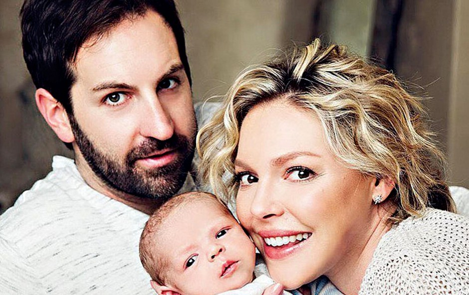 Igralki Katherine Heigl so hormoni ponagajali šele po porodu (foto: Profimedia)