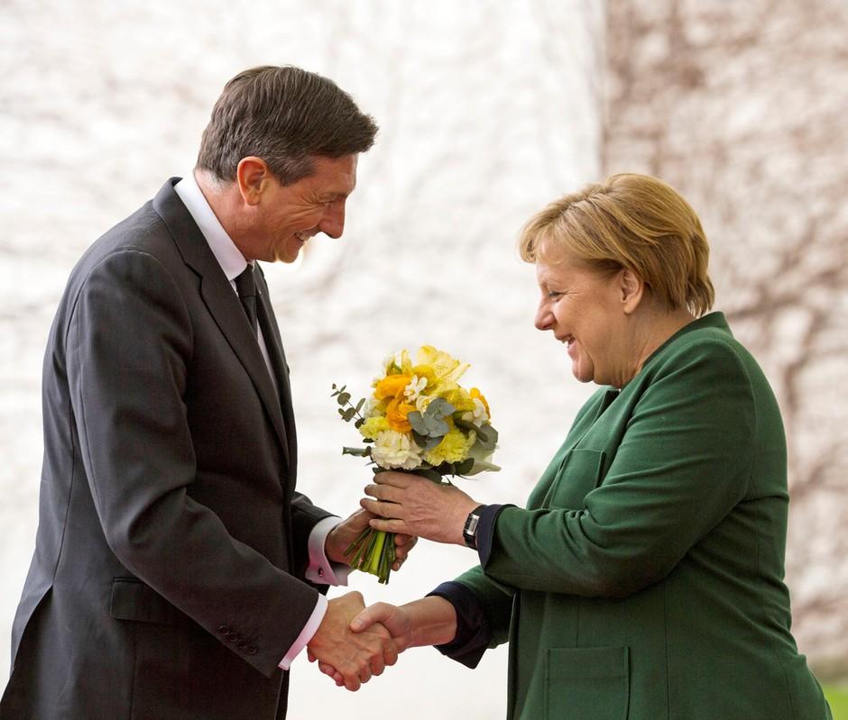 Bi Borut Pahor lahko igral 'ženitnega posrednika' med Merklovo, Trumpom in Putinom? (foto: profimedia)