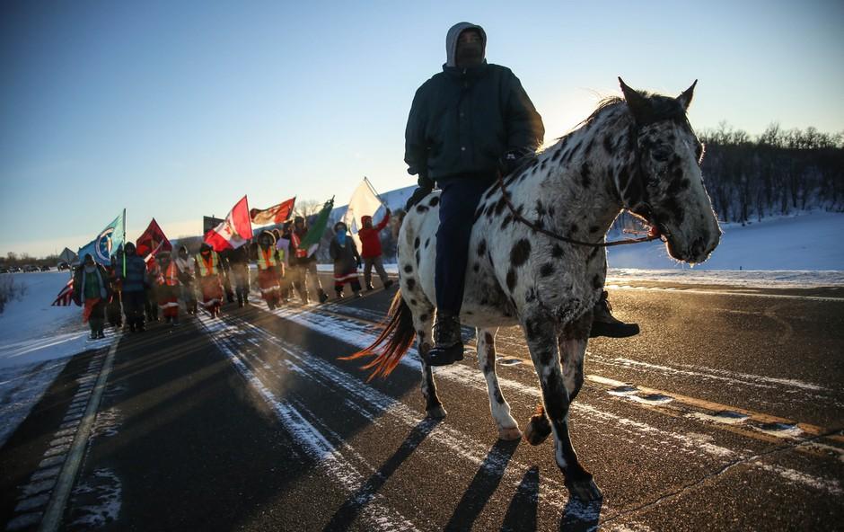 Indijansko pleme s tožbo proti gradnji naftovoda v Severni in Južni Dakoti! (foto: profimedia)