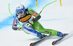 Ilka Štuhec je svetovna prvakinja v smuku!