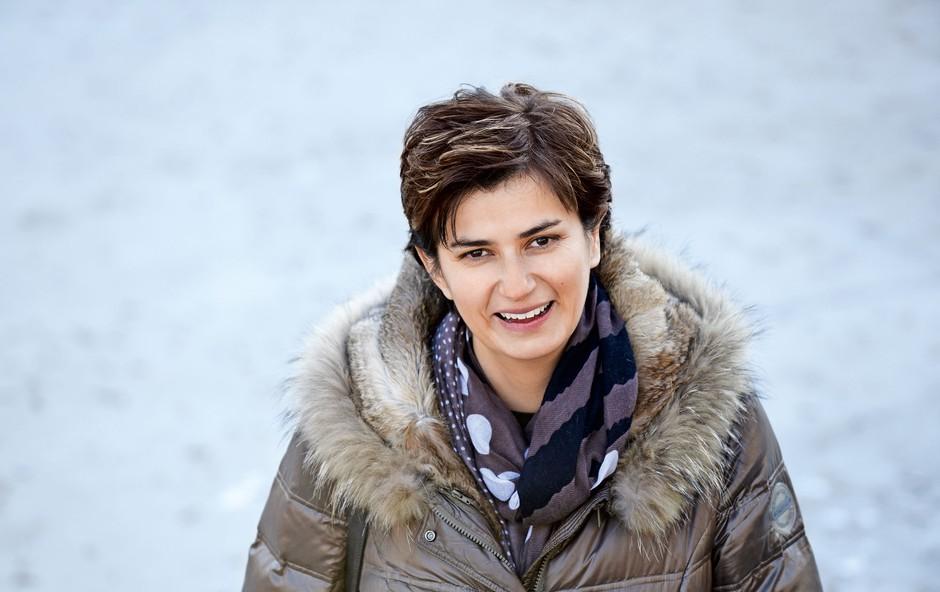 """Dr. Sanela Banović: """"Sprašujem se, od kdaj je lastna skrb za psihološko zdravje postala luksuz."""" (foto: Igor Zaplatil)"""