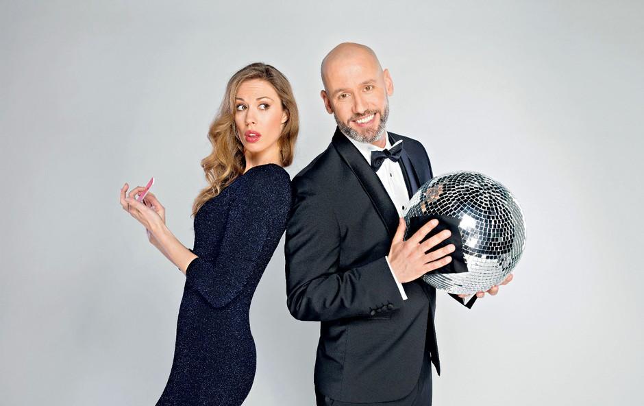 Peter Poles in Tara Zupančič: Plesala bosta z zvezdami! (foto: Pop TV)