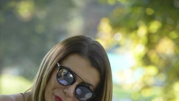 Tako so Mireline ustnice izgledale minulo poletje ... (foto: Goran Antley)