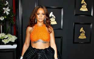 Rihanna je zamudila na podelitev grammyjev