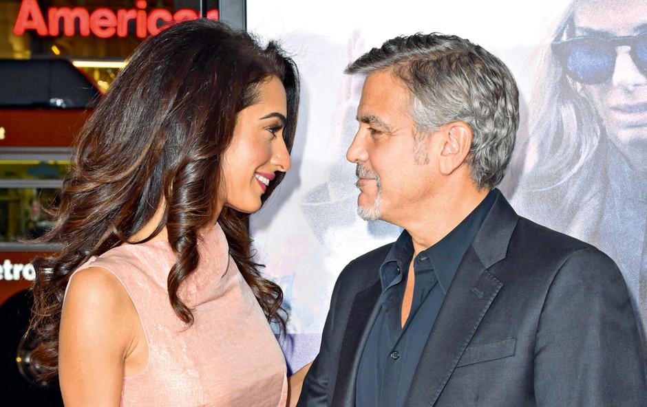 George Clooney v juniju pričakuje dvojčka (foto: Profimedia)