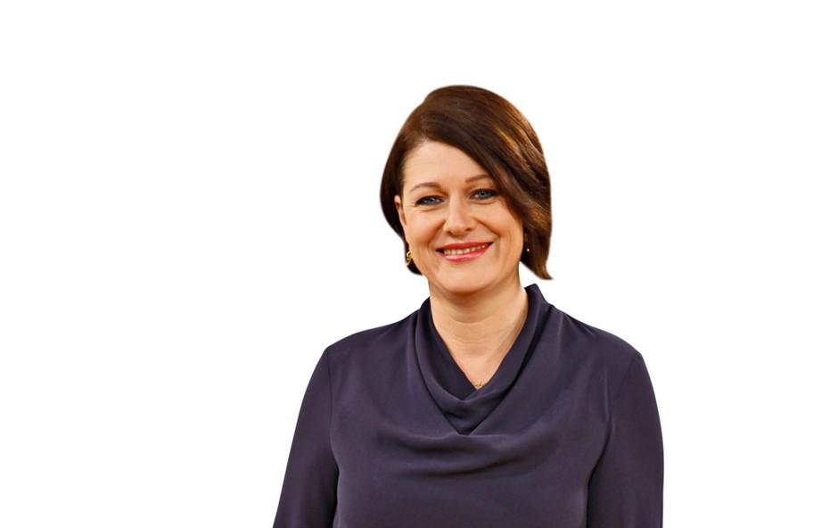 """Katja Tratnik: """" Sem zgovorna, nasmejana, pozitivna."""" (foto: Helena Kermelj)"""