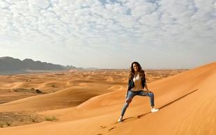 Tina Gaber je s fantom odpotovala v Dubaj