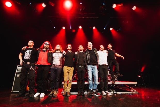 Hamo & Tribute 2 Love z novim albumom 3p razprodali veliko dvorano Kina Šiške (foto: Marko Alpner)