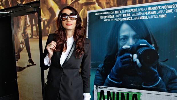 Domači celovečerec Anina Provizija ima pestro igralsko zasedbo (foto: Goran Antley)
