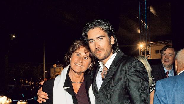 Jan Plestenjak ima v Strunjanu za sosedo svojo mamo (foto: Goran Antley)