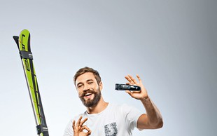 Filip Flisar poleg brkov skrbi še za brado