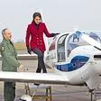 Kate Middleton: Preizkusila se je v vlogi pilotke