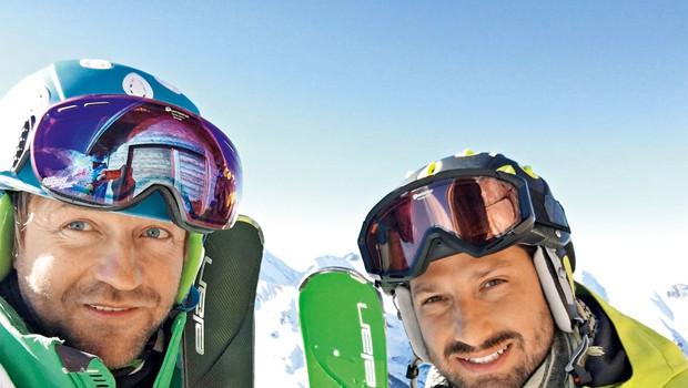 Jernej Tozon je užival v francoskih Alpah (foto: osebni arhiv)