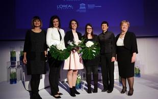 Štipendistke 'Za ženske v znanosti' so postale biokemičarka, farmacevtka in sintezna biologinja!