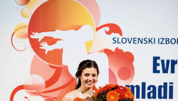 Plesalka Patricija Crnkovič bo plesala z Jernejem Tozonom (foto: osebni arhiv)
