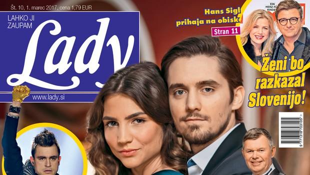 Lady o tem, kaj bosta Inja Zalta in Klemen Janežič počela po Usodnem vinu! (foto: Lady)