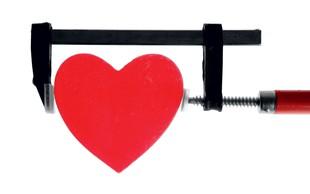 Srce ne more teči sprinta na dolge proge