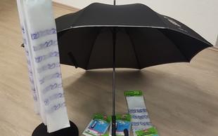 Vrečke za dežnike od danes že v trgovinah