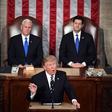 Med Trumpovim govorom v kongresu padel nov rekord na Twitterju!