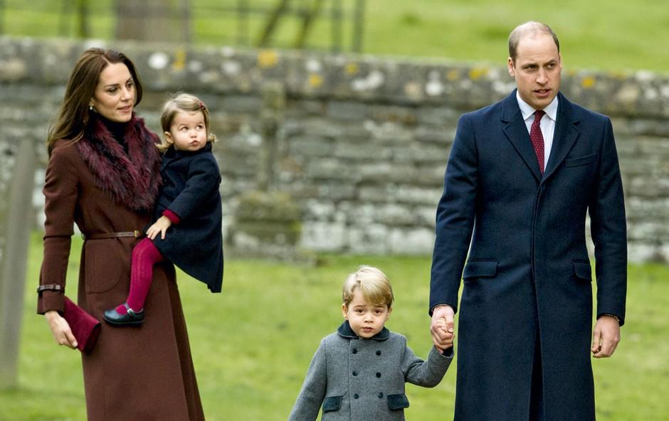 Vojvodinja Catherine: Otroške obleke so iz Španije (foto: Profimedia)
