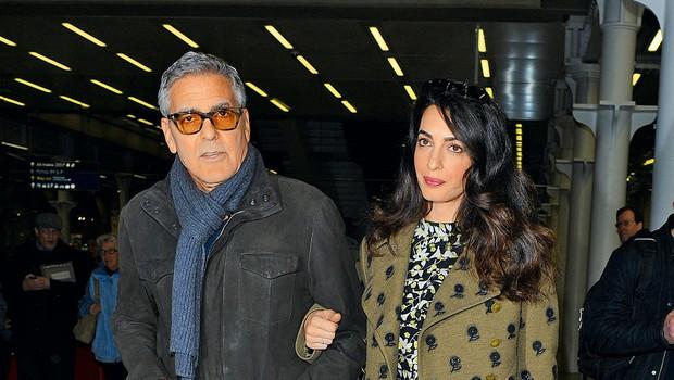 George Clooney in Amal: Pazila bosta na svojo varnost (foto: Profimedia)
