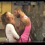 Nikola jo je želel poljubiti, Ksenija pa se njegovm čarov ni vdala. (foto: Youtube Parovi)