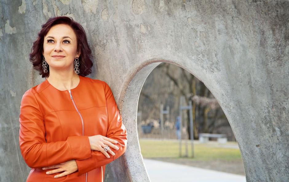 Lara Jankovič: »Četrtinko si vedno pustim, da lahko grešim.« (foto: Aleksandra Saša Prelesnik)