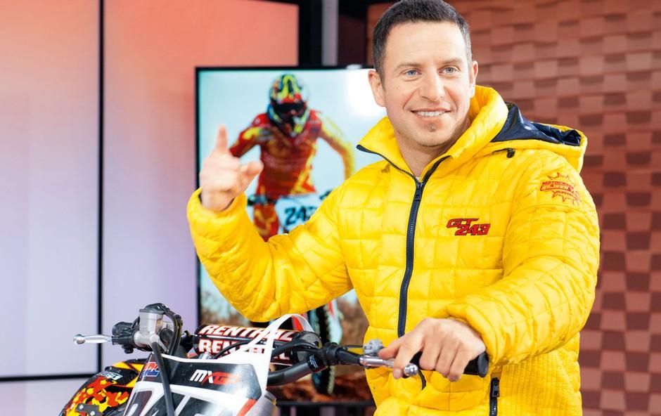 Rene Mlekuž in Jure Košir: S smučk na motorje za motokros? (foto: Profimedia)