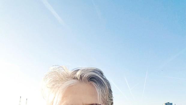 Matjaž Ambrožič: Nasmejal tudi britanskega zunanjega ministra (foto: osebni arhiv)