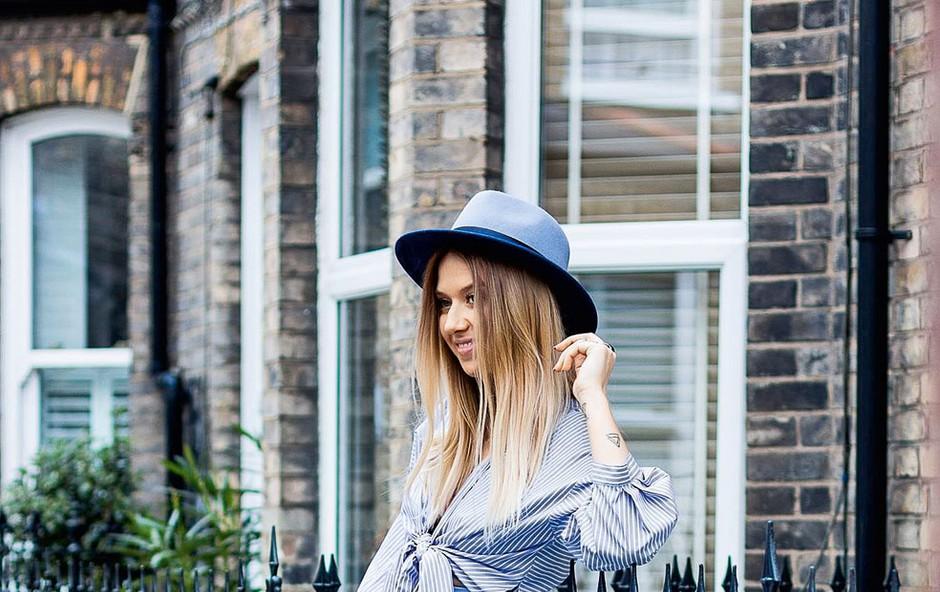 Sara Zavernik: Blogerka, ki navdušuje s svojimi klobuki (foto: Erija Brelih)