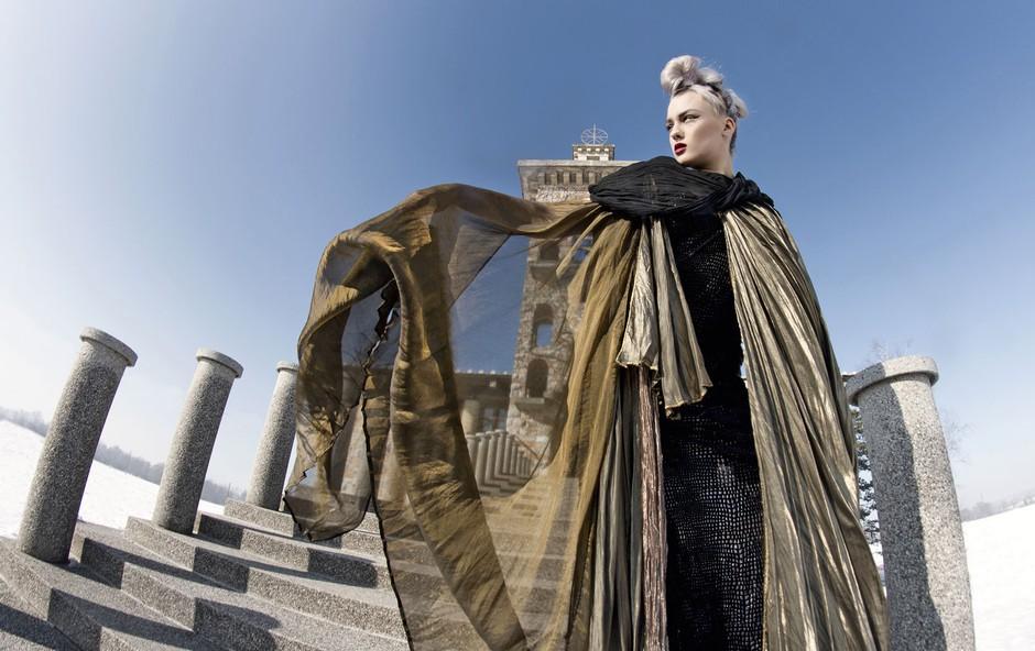 Modna pravljica s slovensko zgodovino (foto: Nina Žnideršič)
