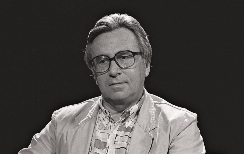 """Poslovil se je Sandi Čolnik: """"Takih novinarjev ni več, odšel je zadnji"""" (foto: Stane Sršen)"""