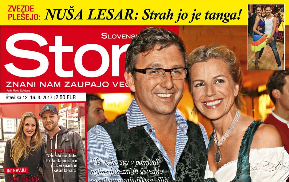 """Hans Sigl in Susanne Kemmler: """"Hans je moj sanjski moški"""" Več v novi Story! (foto: Story)"""