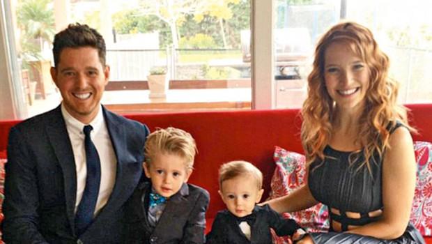 Michael Buble: Je njegov sinček res ozdravel? (foto: profimedia)