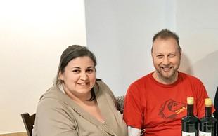 Erika in Damijan Smolak iz Ljubezni na seniku širita posel