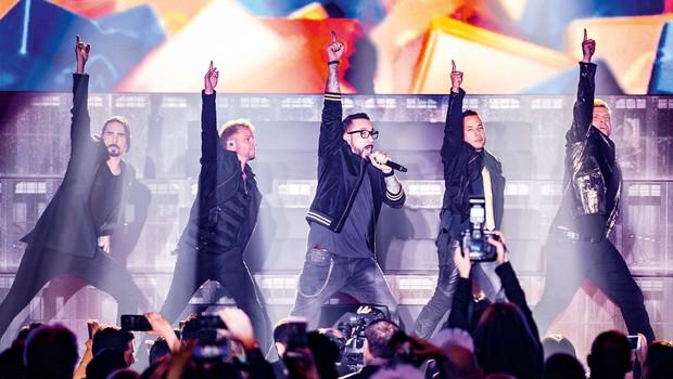 Backstreet Boys: Med drugim so goli tekali po hotelih (foto: Profimedia)
