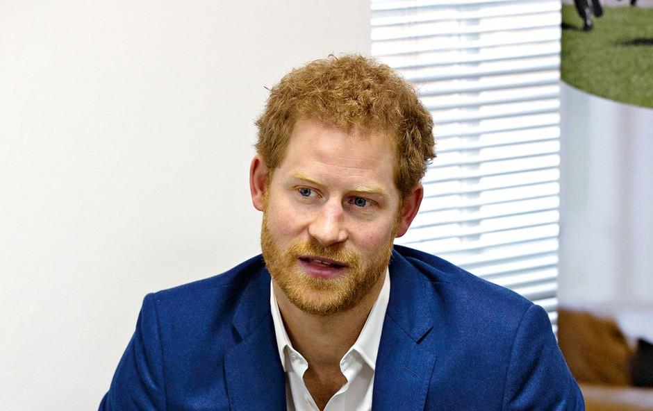 Princ Harry: Zaradi dekleta se depilira (foto: Profimedia)