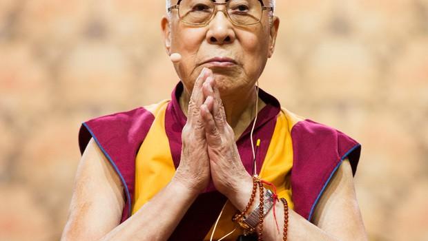 Tudi Dalajlama se zna razjeziti, le razlogi za njegovo jezo so drugačni! (foto: profimedia)