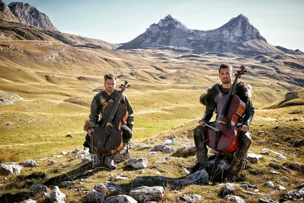 2Cellos z novim videospostom za skladbo iz filma Gladiator! (foto: 2Cellos Press)